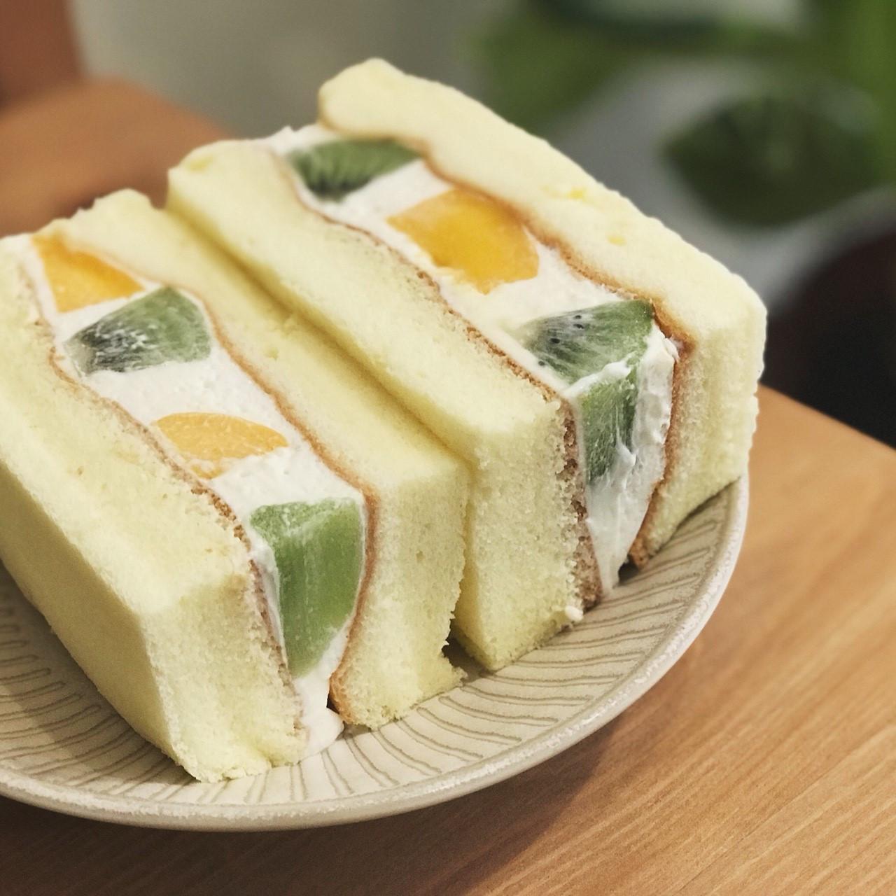 純情水果戚風三明治