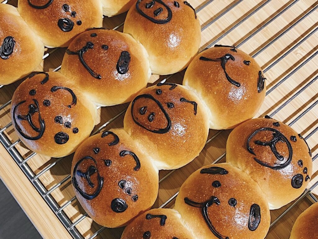 嘉義麵包店 穗悅手作烘焙 餐包三兄弟